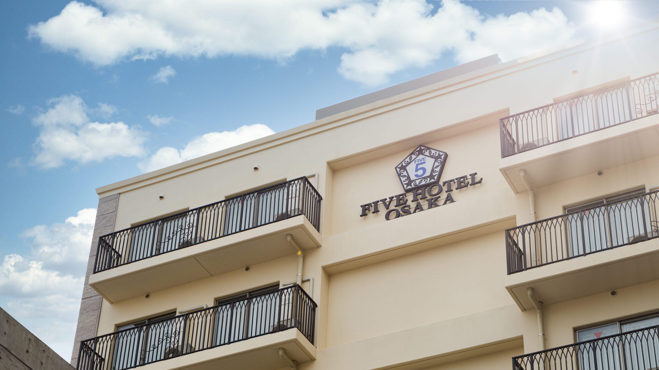 FIVE HOTEL OSAKA OPEN!!